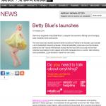 Launch of Betty Blues in Lingerie Buyer
