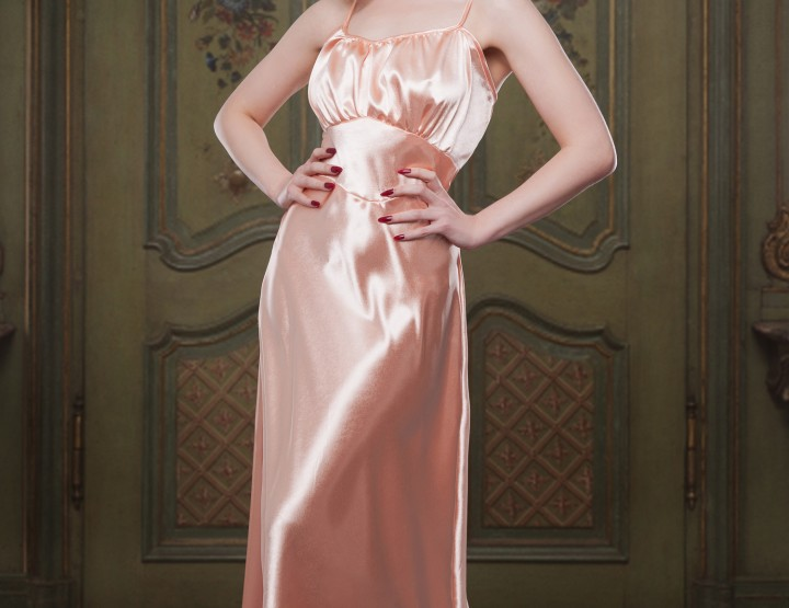 NEW PRODUCT ALERT - Peach Bettie Nightgown