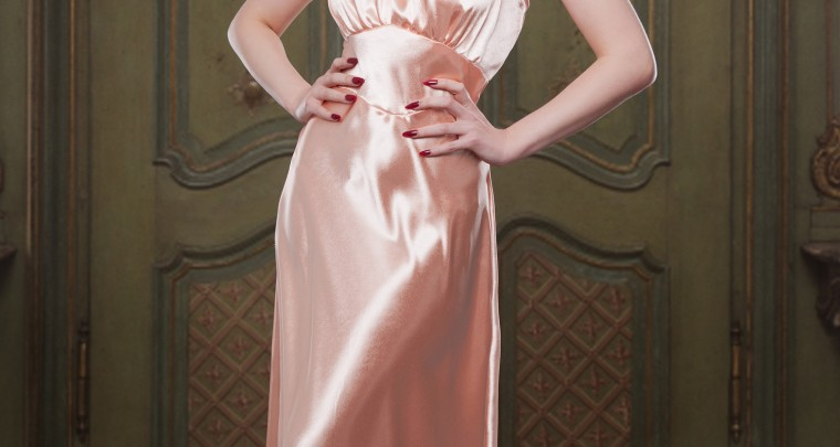 NEW PRODUCT ALERT - Peach Bettie Nightgown
