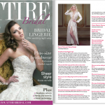 Betty Bridal in Attire Bridal magazine, November 2014