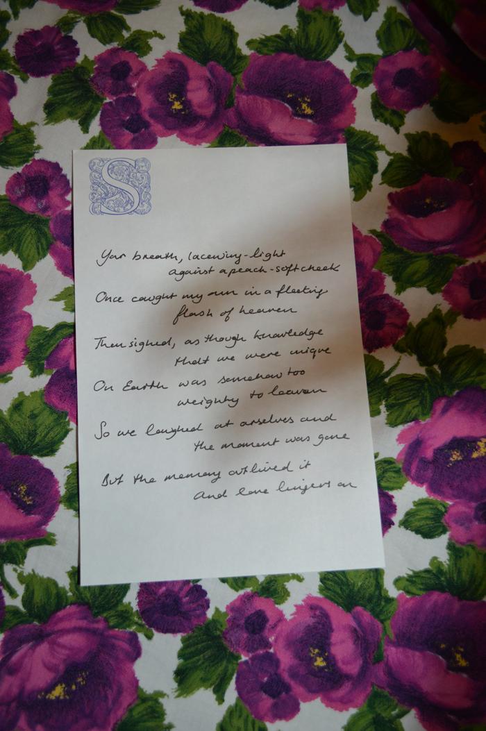 A Love Poem Winner