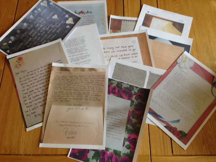 Competition Winner - Love Letters