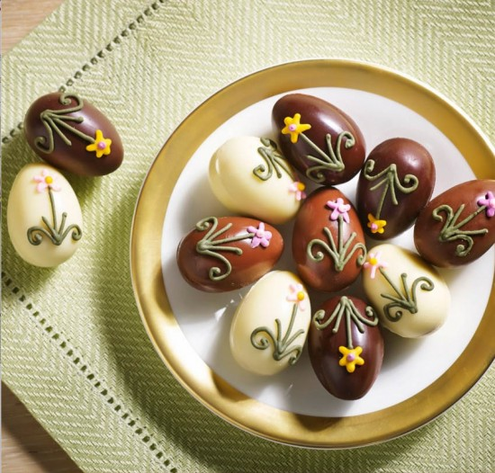 Bettys Champagne Truffles with Royal Icing