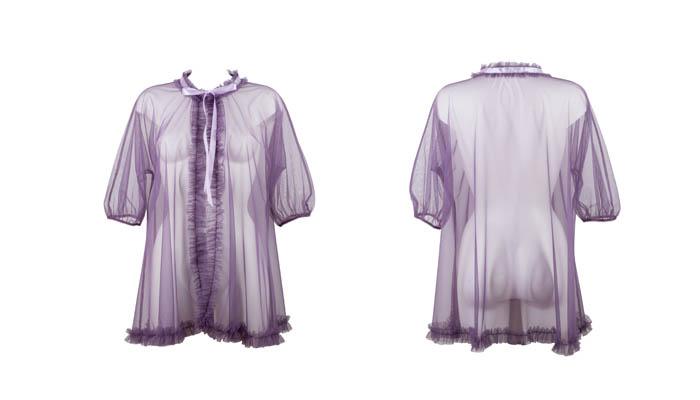 Violet Tempest Bed Jacket