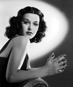 The beautifully brainy Hedy Lamarr