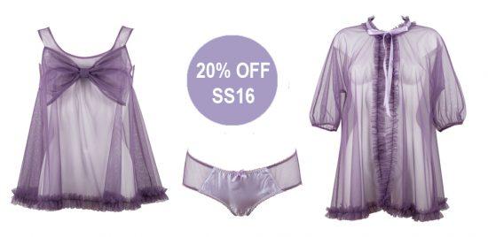 20% off Violet Tempest Set