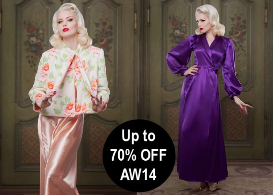 Up to 70% off AW14