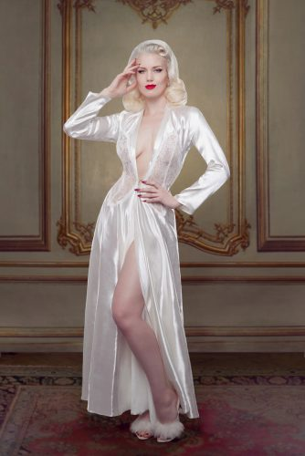 Ivory Nell Robe
